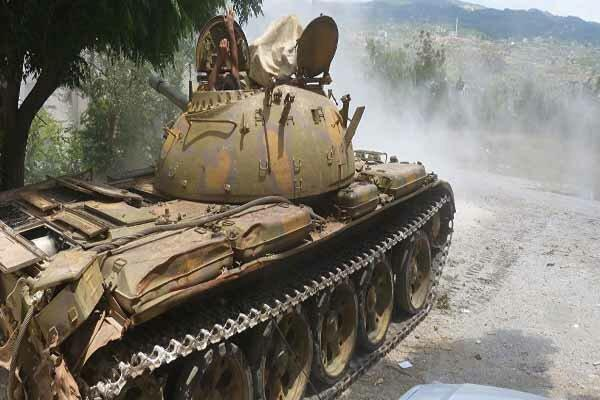 ارتش سوریه وارد محور جنوبی شهرک أبو راسین در حسکه شد