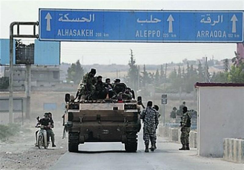 سوریه، انتقال نیرو و تجهیزات ارتش به حومه الحکسه برای مقابله با نظامیان ترکیه ای