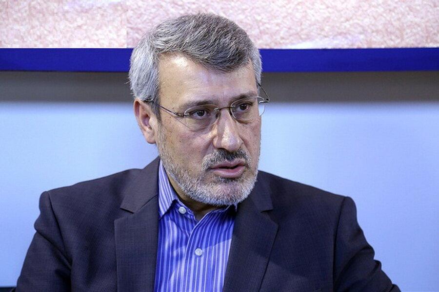 ری توئیت بعیدی نژاد از یک خرابکاری تازه علیه ایران