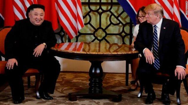 روز دوم نشست رهبران آمریکا-کره شمالی ، ترامپ: برای دستیابی به توافق، سرعت چندان مهم نیست، کیم جونگ اون: حس می کنم نتایج خوبی حاصل می گردد