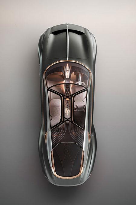 بنتلی جدید با یک خدمتکار هوشمند؛ آینده اتومبیل های لوکس