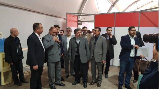 معاون رئیس کل دادگستری تهران از ستاد انتخابات فرمانداری بازدید کرد