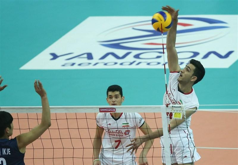 5 بازی در روز چهارم مسابقات والیبال امیدهای آسیا برگزار می گردد