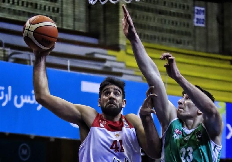 لیگ برتر بسکتبال، جدال مهرام و پتروشیمی در تهران