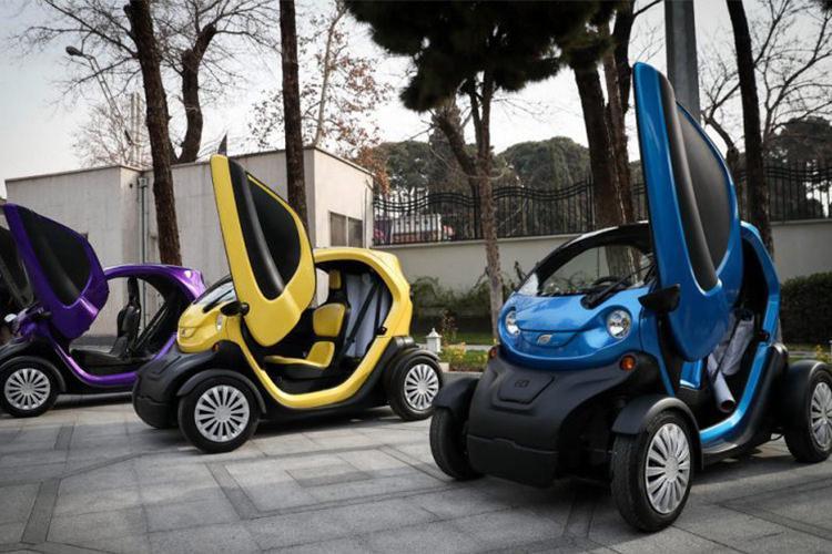 تهران در آینده نزدیک شاهد خودرو های برقی خواهد بود