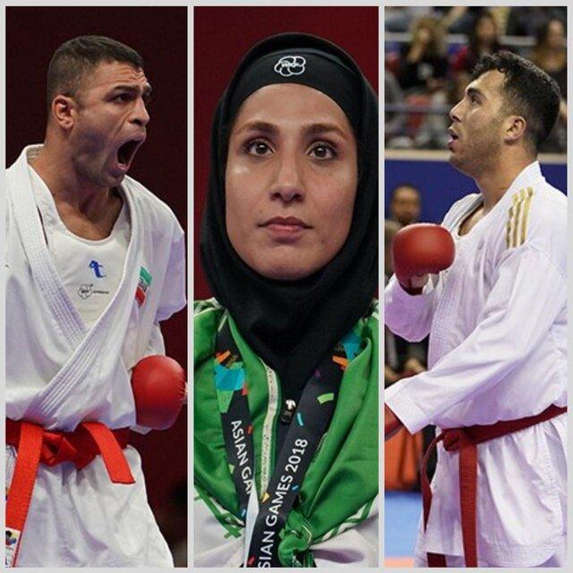 قهرمانی کاراته ایران در لیگ جهانی شیلی با 5 مدال طلا