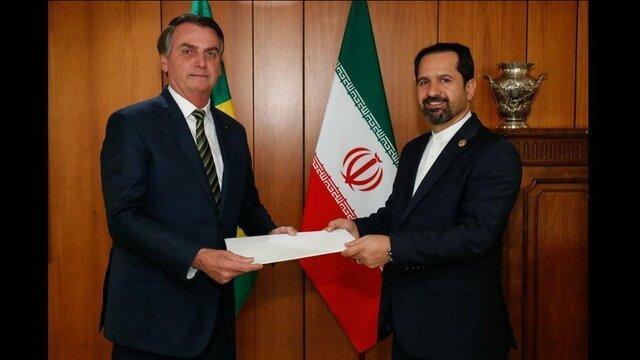 تاکید رییس جمهور برزیل بر ضرورت تقویت روابط همه جانبه تهران - برازیلیا