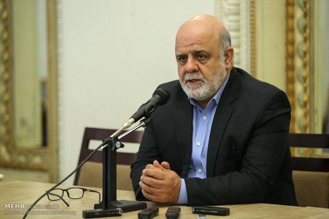 ملاقات ایرج مسجدی با وزیر بهداشت عراق در رابطه با کرونا