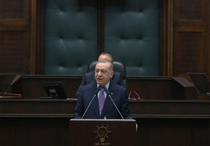 اردوغان: آمریکا، ایران و روسیه در سوریه چه کار دارند