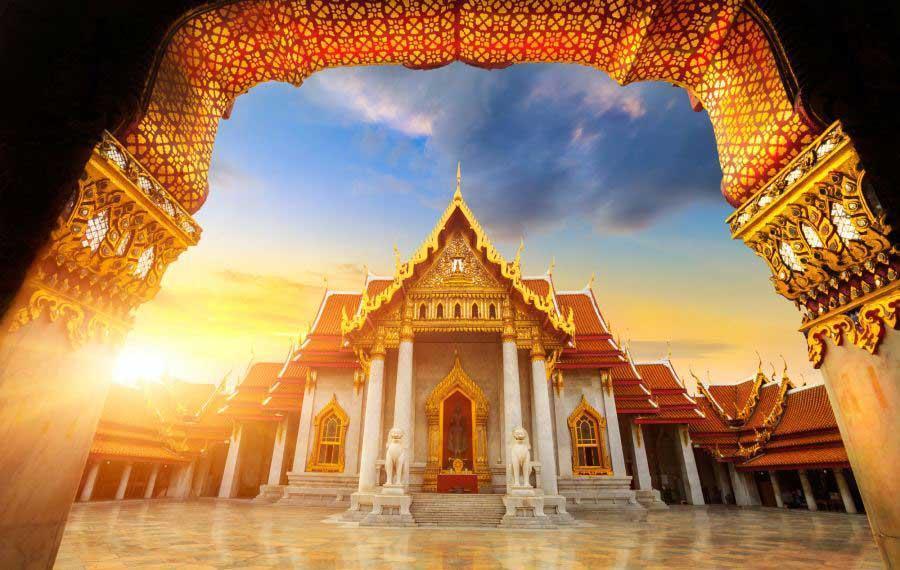آشنایی با کاخ عظیم Grand Palace بانکوک جاهای دیدنی تایلند