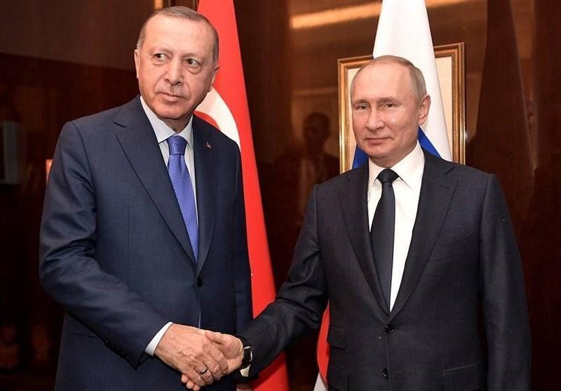 گفتگوی پوتین و اردوغان درباره اوضاع سوریه