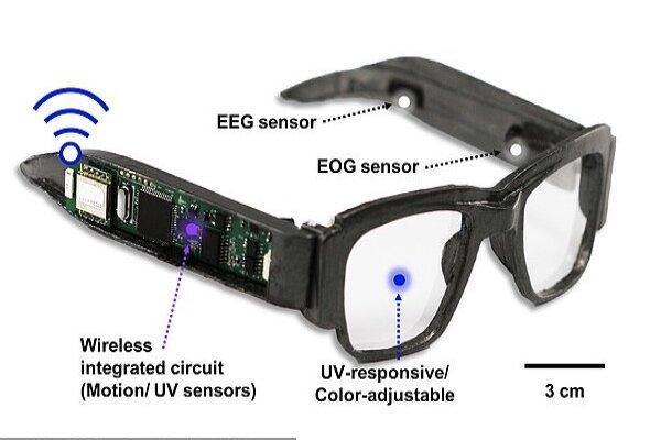عینک هوشمندی که سلامت کاربران را رصد می نماید