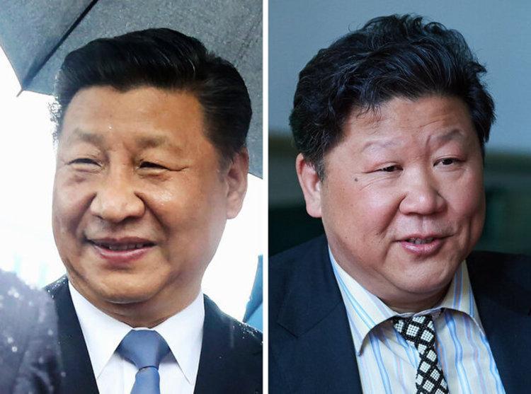 شباهت دردسرساز یک خواننده با رئیس جمهور چین