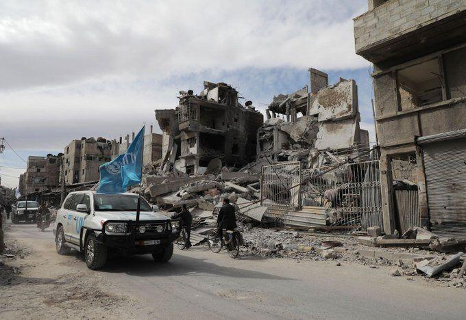 خبرنگاران غربی های شورای امنیت با پیشنهاد روسیه برای یاری به مردم سوریه مخالفت کردند
