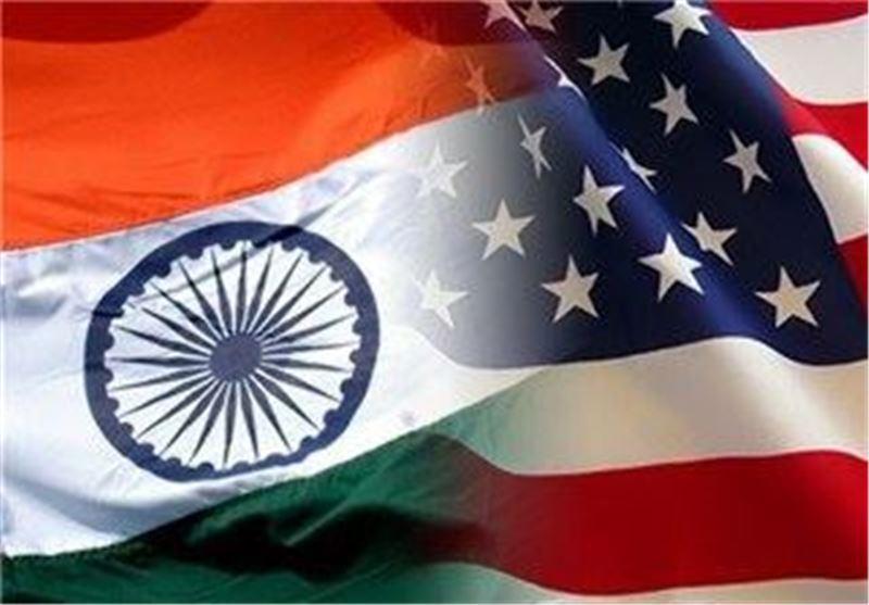 مانور مشترک نیروهای دریایی هند و آمریکا در اقیانوس هند