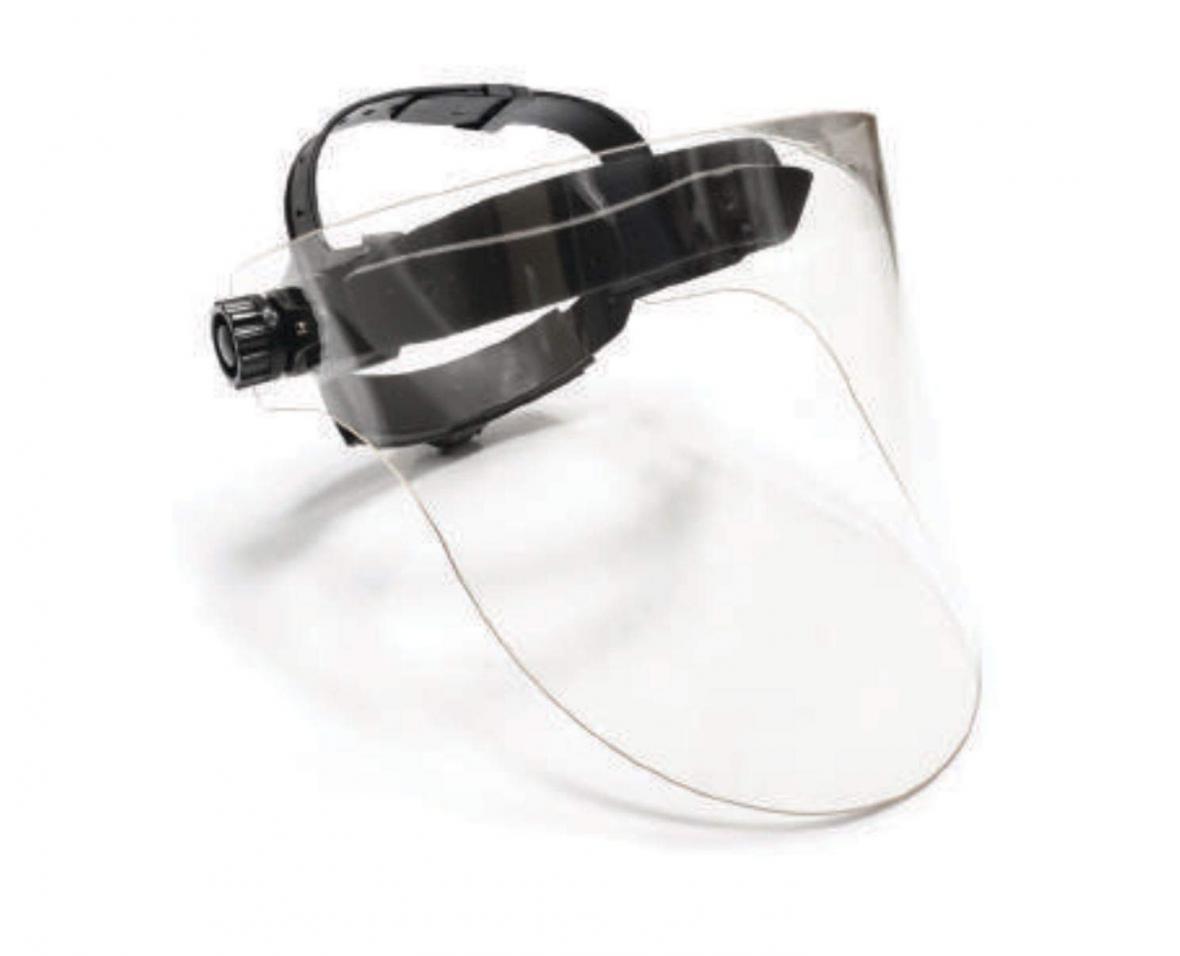 شیلد آنتی باکتریال محافظ صورت با چاپ سه بعدی فراوری می گردد
