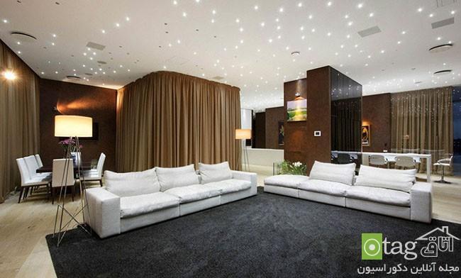 معرفی چندین مدل زیبا از طراحی سقف در دکوراسیون داخلی منزل