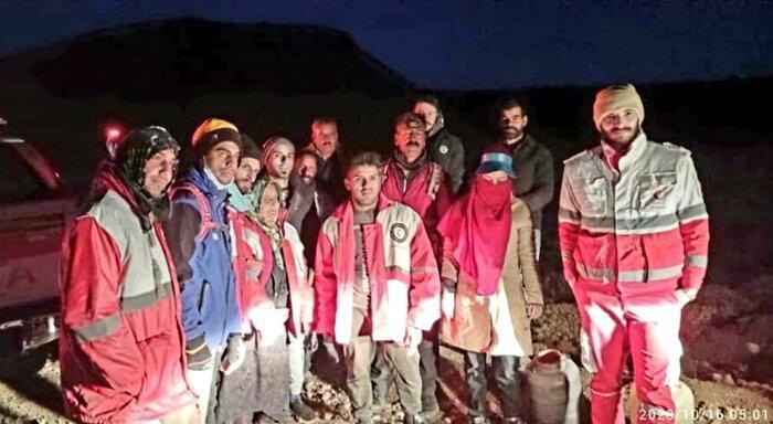 نجات سه نفر در ارتفاعات شاه جهان اسفراین