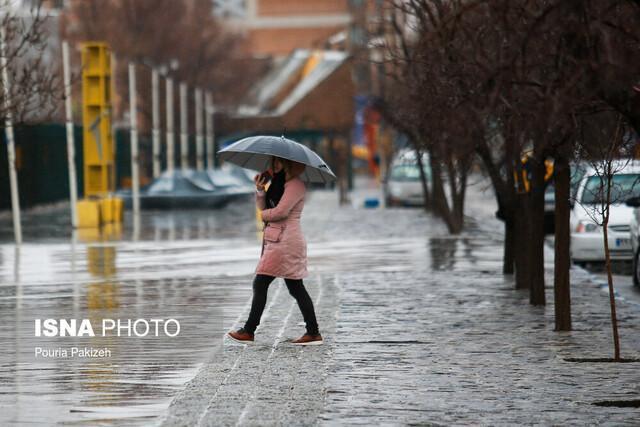 غرب کشور امروز و فردا بارانی می گردد