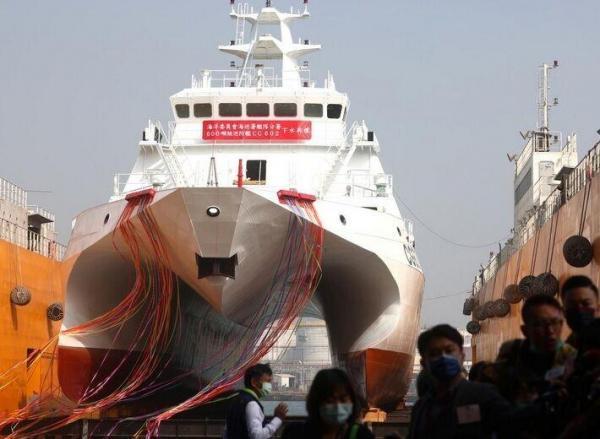 تایوان برای مقابله با چین نخستین ناوگان جدید گارد ساحلی راهاندازی کرد