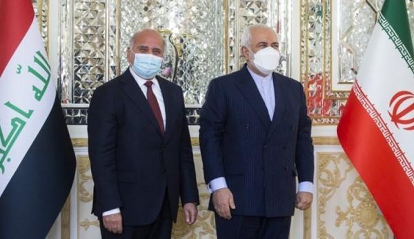 گزارش توییتری ظریف از ملاقات امروزش با وزیر خارجه عراق