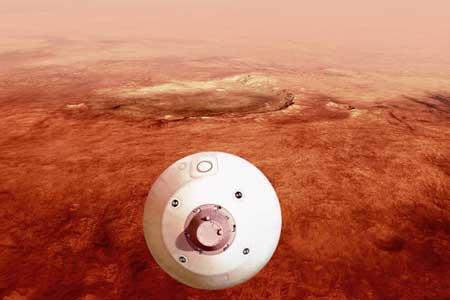 استقامت آماده فرود بر مریخ است
