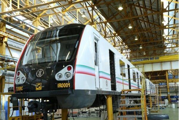 بومی سازی 85 درصد 31 رام قطار ملی متروی تهران آغاز شد