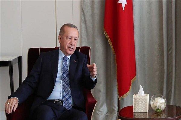 اردوغان: در دریافت انتقام از پ ک ک تردید نداریم