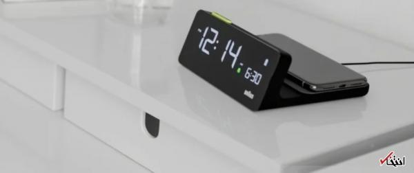 ساعت هوشمند مجهز به شارژ بیسیم
