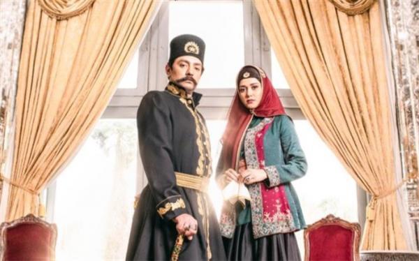 بهرام رادان و پریناز ایزدیار در عاشقانه ای از زندگی ناصرالدین شاه
