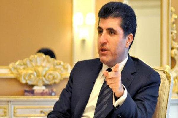 درخواست بارزانی از بغداد و واشنگتن برای تشکیل نیروی مشترک