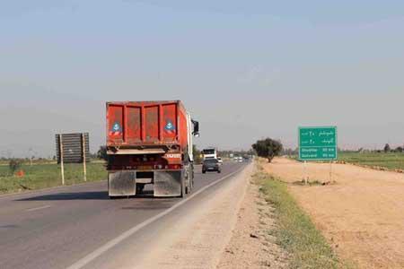رصد تردد خودرو در جاده ها با 2293 دستگاه ترددشمار ، 11 محور مسدود است