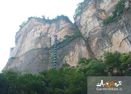 طبیعت بی نظیر پلکان مارپیچ کوه تایهانگ چین یا راه پله به بهشت، عکس