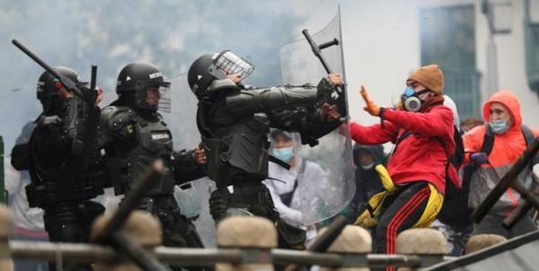 روسیه دست داشتن در اعتراضات خونین کلمبیا را اتهام بی اساس خواند