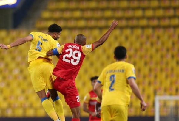 بازیکن النصر: فولاد روی یک توپ مُرده به گل رسید