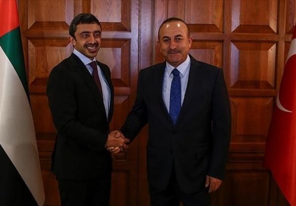 تماس تلفنی وزرای امور خارجه ترکیه و امارات