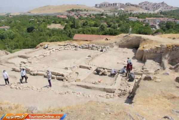 کشف بقایای 4 خانه 5500ساله در ارسلان تپه ترکیه